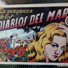 Tebeos: COMIC EL DIABLO DE LOS MARES Nº 38 - ORIGINAL - EDIC. TORAY (M - 1 ). Lote 116546663