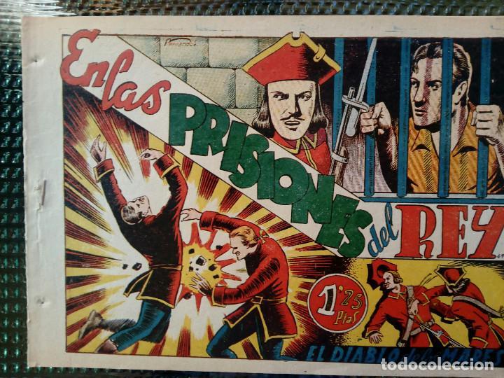 COMIC EL DIABLO DE LOS MARES Nº 48 - ORIGINAL - EDIC. TORAY (M-1) (Tebeos y Comics - Toray - Diablo de los Mares)