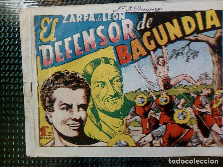 COMIC ZARPA DE LEON Nº 7 - ORIGINAL - EDC. TORAY 1950 (M-1) (Tebeos y Comics - Toray - Zarpa de León)
