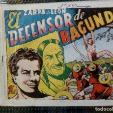Tebeos: COMIC ZARPA DE LEON Nº 7 - ORIGINAL - EDC. TORAY 1950 (M-1). Lote 116550899