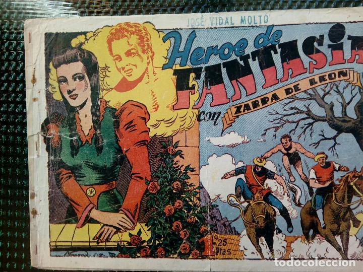 COMIC ZARPA DE LEON Nº 6 - ORIGINAL - EDC. TORAY 1950 (M-1) (Tebeos y Comics - Toray - Zarpa de León)