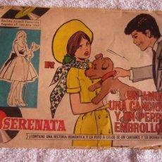 Tebeos: SERENATA N° 293, UN AMOR, UNA CANCION Y UN PERRO EMBROLLON .. Lote 116698835