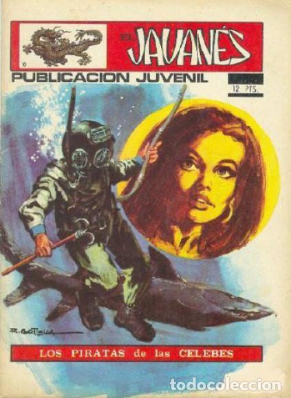 EL JAVANÉS - Nº 10 -LOS PIRATAS DE LAS CELEBES-ÚLT.COLEC.-1971-ANTº.CARRILLO-MUY BUENO-DIFÍCIL-2021 (Tebeos y Comics - Toray - Otros)