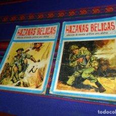 Tebeos: HAZAÑAS BÉLICAS NºS 1 Y 2 SELECCIÓN. TORAY 1972. REGALO ALTO MANDO EXTRA 9 DE IBERO MUNDIAL.. Lote 117513731