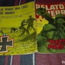 Tebeos: RELATOS DE GUERRA Nº20 BAZOKA PARA TRES . Lote 117610071