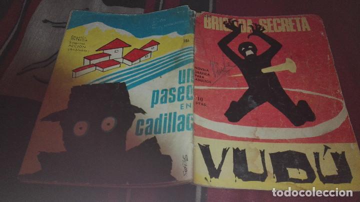 BRIGADA SECRETA Nº 186 VUDU (Tebeos y Comics - Toray - Brigada Secreta)