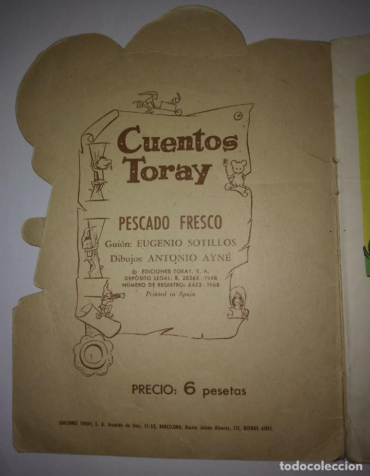 Tebeos: PESCADO FRESCO - TORAY - AYNE - CUENTOS TROQUELADOS - Foto 2 - 117823971