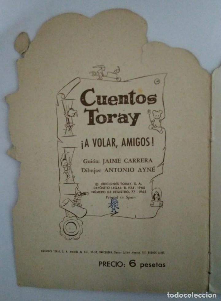 A VOLAR AMIGOS - DIBUJOS DE AINÉ- TORAY - CUENTOS TROQUELADOS - 117826811