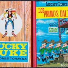 Tebeos: LUCKY LUKE Nº 4 - TORAY 1969 - 2º EDICIÓN - LOS PRIMOS DALTON - BUENÍSIMO DE TODO. Lote 117920691