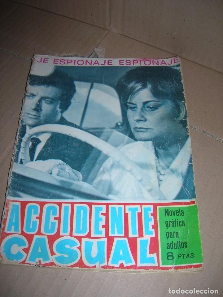 ACCIDENTE CASUAL. NOVELA GRÁFICA ESPIONAJE. EDICIONES TORAY, AÑO 1966. CON 48 PÁGINAS. (Tebeos y Comics - Toray - Espionaje)