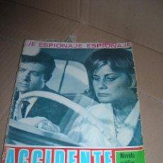 Tebeos: ACCIDENTE CASUAL. NOVELA GRÁFICA ESPIONAJE. EDICIONES TORAY, AÑO 1966. CON 48 PÁGINAS.. Lote 118105095