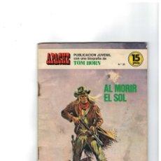 Tebeos: APACHE Nº 30 -EDICIONES ANCEO-TORAY 1975- . Lote 118299475