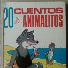 Tebeos: 20 CUENTOS DE ANIMALITOS, TOMO SEXTO. EDICIONES TORAY, 1969. POR EUGENIO SOTILLOS Y ANTONIO AYNÉ. Lote 118688770