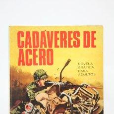 Giornalini: ANTIGUO CÓMIC - HAZAÑAS BÉLICAS, BOIXCAR Nº 44 / CADÁVERES DE ACERO - EDIT TORAY - AÑO 1967. Lote 118804670