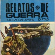 Tebeos: RELATOS DE GUERRA. EL SABOTAJE. AÑO 1970. 48 PÁGINAS DE DIBUJOS EN BICOLOR. Lote 118847999