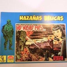 Tebeos: HAZAÑAS BÉLICAS Nº 13 - ILUSTRADO POR BOIXCAR - EDICIONES TORAY - G4 EDICIONES 1989. Lote 119291523