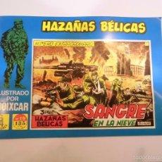 Tebeos: HAZAÑAS BÉLICAS Nº 19 - ILUSTRADO POR BOIXCAR - EDICIONES TORAY - G4 EDICIONES 1989. Lote 119291775
