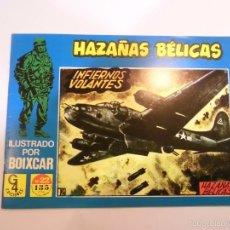 Tebeos: HAZAÑAS BÉLICAS Nº 22 - ILUSTRADO POR BOIXCAR - EDICIONES TORAY - G4 EDICIONES 1989. Lote 119291863