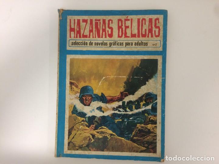 COMIC: HAZAÑAS BELICAS Nº 3 SELECCION DE NOVELAS GRAFICAS - TORAY 1972 (Tebeos y Comics - Toray - Hazañas del Oeste)