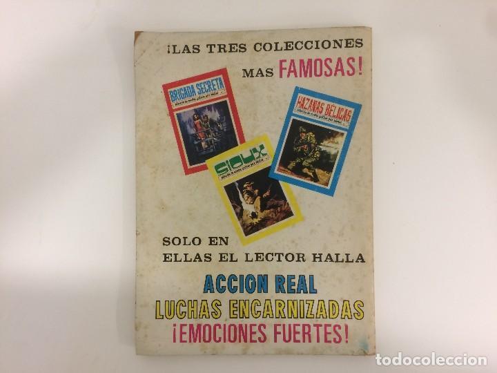 Tebeos: COMIC: HAZAÑAS BELICAS Nº 3 SELECCION DE NOVELAS GRAFICAS - TORAY 1972 - Foto 3 - 119935911