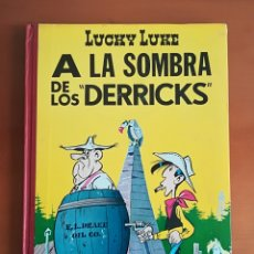 Tebeos: LUCKY LUKE A LA SOMBRA DE LOS DERRICKS - 1ERA EDICIÓN AÑO 1969 TORAY. Lote 186451328