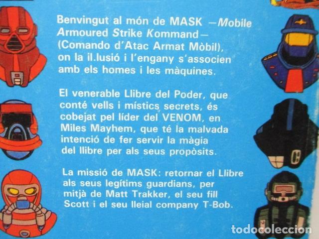 Tebeos: MASK , Nº 4 - EL LLIBRE DEL PODER. (EN CATALAN) - Foto 13 - 120120103