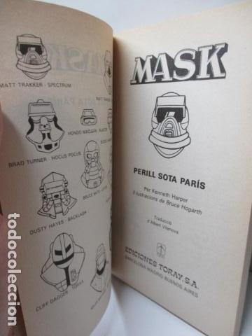 Tebeos: MASK , Nº 2 - PERILL SOTA PARÍS. (EN CATALAN) - Foto 5 - 120120703