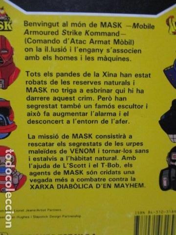 Tebeos: MASK , Nº 5 - EL PODER DEL PANDA (EN CATALAN) - Foto 9 - 120121143