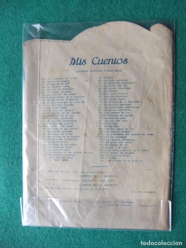 Tebeos: COLECCION MIS CUENTOS Nº 110 LAS TRENZAS DE LA PRINCESA EDICIONES TORAY - Foto 2 - 120551647