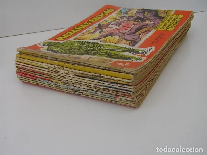Tebeos: LOTE DE 16 COMICS HAZAÑAS BELICAS SERIE ROJA (AÑOS 50) (VER NUMEROS EN DESCRIPCION) . COMIC TORAY. - Foto 2 - 120641155