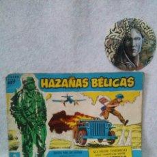 Tebeos: HAZAÑAS BELICAS NUM EXTRA 227 - EICIONES TORAY , SEÑALES DE USO.. Lote 120837175