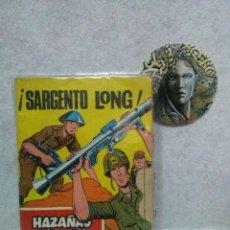Tebeos: HAZAÑAS BELICAS -SARGENTO LONG- Nº 290 AÑO 1970...PORTADA CON UN PEQUEÑO TROZO DE PAPEL ROTO.. Lote 120979599