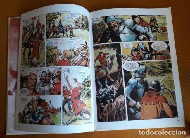 Tebeos: LIBRO LA FLECHA NEGRA. ROBERT L STEVENSON. EDICIONES AFHA. TAPA DURA. AÑO 1980. - Foto 4 - 26162173