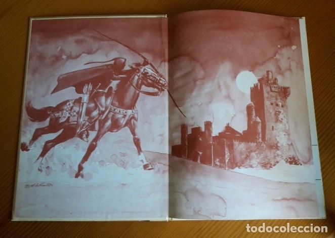 Tebeos: LIBRO LA FLECHA NEGRA. ROBERT L STEVENSON. EDICIONES AFHA. TAPA DURA. AÑO 1980. - Foto 5 - 26162173