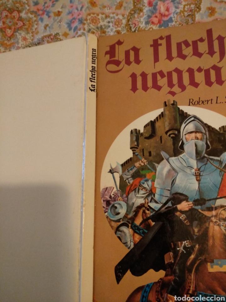 Tebeos: LA FLECHA NEGRA , ROBERT L. STEVENSON. ILUSTRADO POR RAMON DE LA FUENTE. EDICIONES AFHA. 1976 - Foto 6 - 111883779