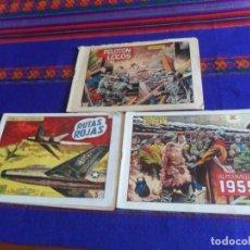 Tebeos: HAZAÑAS BÉLICAS 2ª SERIE ALMANAQUE 1955 DIVISIÓN AZUL 79 EXTRAORDINARIO 125 EXTRAORDINARIO 128 138.. Lote 121069271