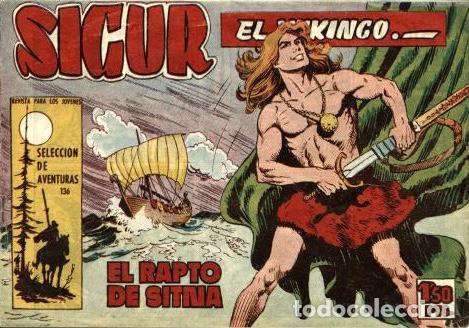 SIGUR EL VIKINGO, NÚMERO 7 (TORAY, 1958) DE JOSÉ ORTIZ (Tebeos y Comics - Toray - Otros)