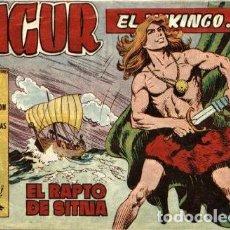 Tebeos: SIGUR EL VIKINGO, NÚMERO 7 (TORAY, 1958) DE JOSÉ ORTIZ. Lote 121078847