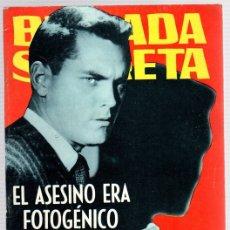 Tebeos: BRIGADA SECRETA. EL ASESINO ERA FOTOGÉNICO. Nº 97. AÑO 1965. Lote 121228812