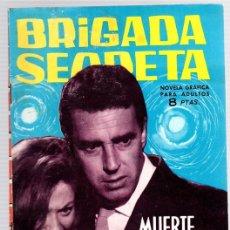 Tebeos: BRIGADA SECRETA. MUERTE EN LA CARRETERA. Nº 53. AÑO 1964. Lote 121229359