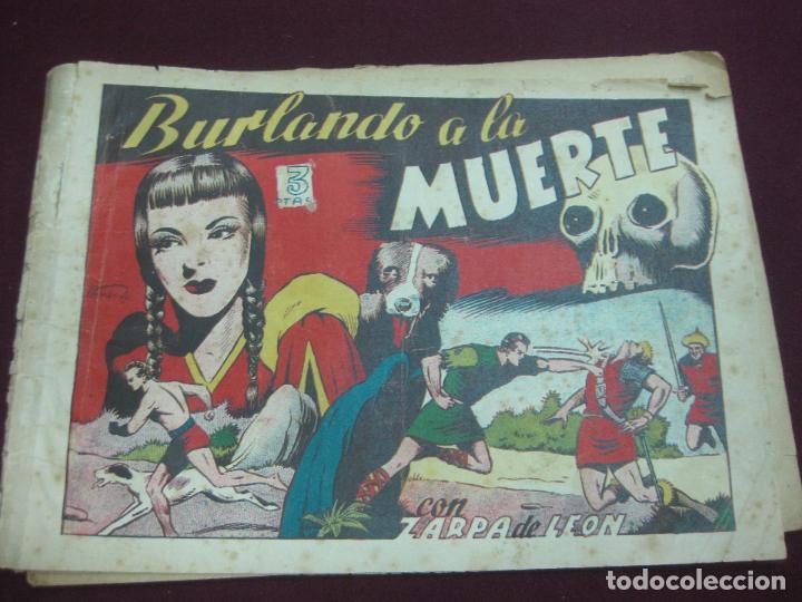 ZARPA DE LEON ALBUM IV. BURLANDO A LA MUERTE. EDICIONES TORAY. TEBEO ORIGINAL.. (Tebeos y Comics - Toray - Zarpa de León)