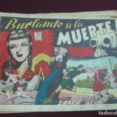 Tebeos: ZARPA DE LEON ALBUM IV. BURLANDO A LA MUERTE. EDICIONES TORAY. TEBEO ORIGINAL... Lote 121417707