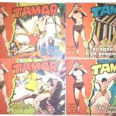 Tebeos: * TAMAR * EDICIONES TORAY 1961 * ORIGINALES LOTE DE 5 Nº *. Lote 121509715