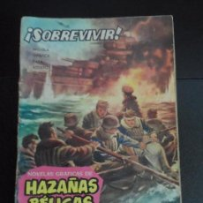Tebeos: HAZAÑAS BÉLICAS Nº 17 SOBREVIVIR NOVELA GRÁFICA EDITORIAL TORAY. Lote 121677667