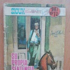 Tebeos: SIOUX 92 SU PROPIA SENTENCIA (1967) TORAY. Lote 122128311