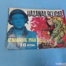 Tebeos: HAZAÑAS BELICAS, ALMANAQUE 1963, DE TORAY. Lote 122175467