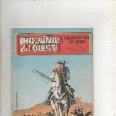 Tebeos: HAZAÑAS DEL OESTE. Nº 244. TORAY 1971. PORTADA DE LOPEZ ESPI.ULTIMO NUMERO.DA. Lote 122178427