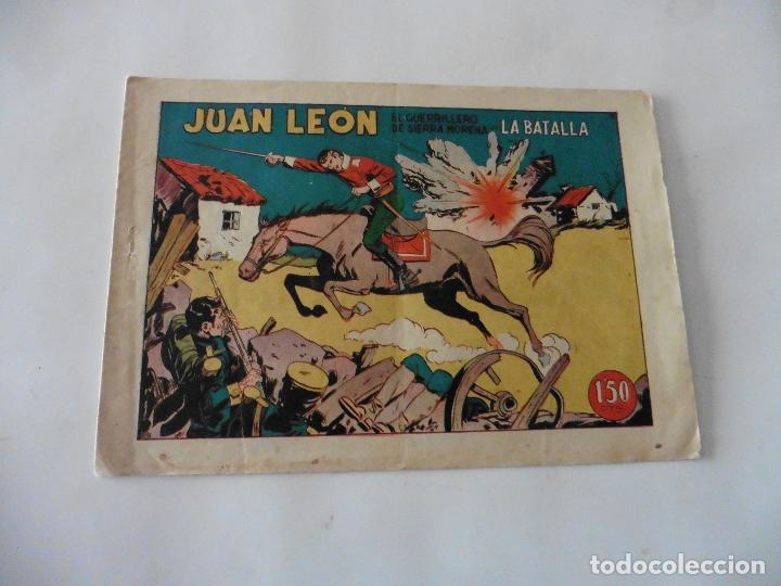 JUAN LEON Nº 11 ORIGINAL (Tebeos y Comics - Toray - Otros)
