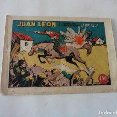 Tebeos: JUAN LEON Nº 11 ORIGINAL. Lote 122329711