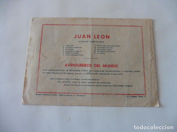 Tebeos: JUAN LEON Nº 11 ORIGINAL - Foto 2 - 122329711